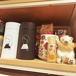 キッチン/珈琲缶/雑貨/小物/冷蔵庫ラック...などのインテリア実例 - 2018-06-12 22:17:55