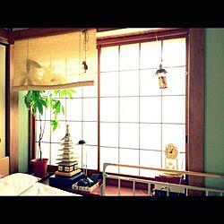 植物/和室/障子/すだれ/出窓のインテリア実例 - 2013-09-03 12:17:17