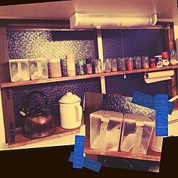キッチン/Before/キッチン収納/natural kitchen/調味料詰め替え...などのインテリア実例 - 2014-01-18 20:16:28