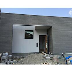 部屋全体/あ、足場が外れました( ・ノェ・)/二階建てなんですよ!(2回目/二階建てなんです!!/着工前に外観を気にしよう。のインテリア実例 - 2015-03-21 14:01:31
