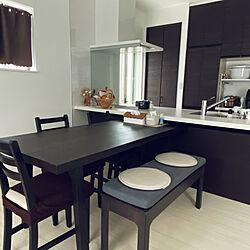 IKEA/ダイニングテーブル/シンプル/ナチュラル/気密性住宅...などのインテリア実例 - 2021-05-24 12:50:17