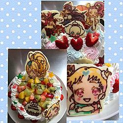 キッチン/誕生日/キャラチョコ/キャラケーキ/手作りお菓子のインテリア実例 - 2018-04-25 14:57:22