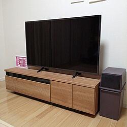 リビング/LOWYA/4Kテレビ/Panasonicテレビ49インチ/Panasonic ブルーレイレコーダー...などのインテリア実例 - 2020-03-02 17:24:20