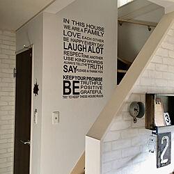 壁/天井/建売住宅/建売だけどオシャレハウスを目指します!/建売/建売り一戸建て...などのインテリア実例 - 2018-02-11 12:50:05