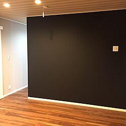 ベッド周り/寝室/ストライプ/黒/新築...などのインテリア実例 - 2017-06-01 21:57:30
