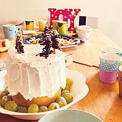 キッチン/クリスマスケーキ/キッチンのインテリア実例 - 2018-12-19 22:54:14