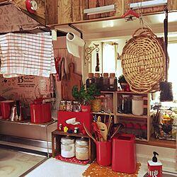 キッチン/カッティングボード/調味料収納/パセリ/ニトリ...などのインテリア実例 - 2017-06-01 09:13:38