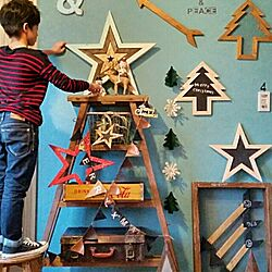 壁/天井/クリスマス/子供部屋/男子部屋/黒板...などのインテリア実例 - 2016-11-10 20:13:54