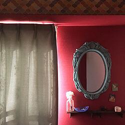 壁/天井/アメリ 映画/鏡のある部屋/映画のインテリアに憧れるのインテリア実例 - 2019-01-04 15:15:31