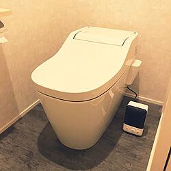 セラミックヒーター/トイレインテリア/Panasonicアラウーノ/Panasonicのトイレ/ヒーター...などのインテリア実例 - 2020-01-12 12:11:22