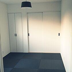 部屋全体/半畳畳/白黒/モノトーン/和室...などのインテリア実例 - 2016-11-07 00:45:37