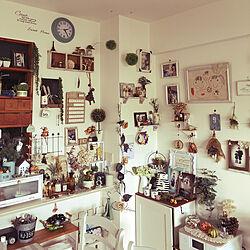 壁/天井/DIY 飾り棚/ダイソー/ナチュラル/セリア...などのインテリア実例 - 2018-09-24 14:22:59