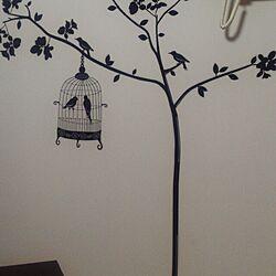 壁/天井/ウォールステッカー/シンプルモダン/MONOTONE/モノトーンに憧れて...などのインテリア実例 - 2014-03-14 10:30:30