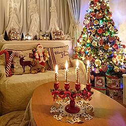 リビング/クリスマス/メルヘンカントリー/海外インテリアに憧れる/物語のある暮らし...などのインテリア実例 - 2020-12-24 22:45:48