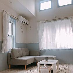 ソファ/リビング/一人暮らし/賃貸/アパート暮らしのインテリア実例 - 2020-03-24 00:08:04