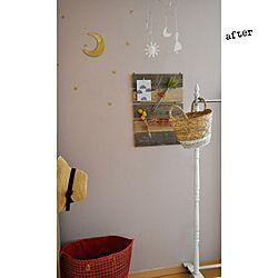 壁/天井/ペーパークラフトのモビール/試験管の一輪挿し/handmade/after...などのインテリア実例 - 2016-07-19 10:56:20
