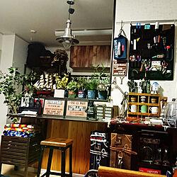 机/seria/収納アイデア/男の一人暮らし/男の趣味部屋...などのインテリア実例 - 2017-10-19 01:37:02