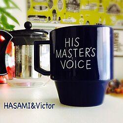 限定品/ふたり暮らし/マグカップ/Victor/HASAMIマグ...などのインテリア実例 - 2015-05-21 14:39:40