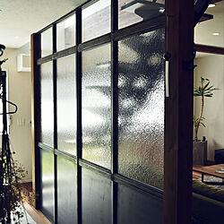 玄関/入り口/パーテーション/アイアン/土間のインテリア実例 - 2017-11-29 13:52:53