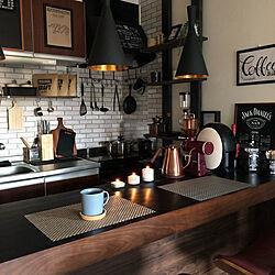 コーヒーしかない暮らし/コーヒーのある暮らし/珈琲/カフェ風/1LDK...などのインテリア実例 - 2019-06-14 18:53:48