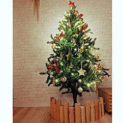 リビング/クリスマスツリー/クリスマス飾り/クリスマスツリー150cm/クリスマスインテリア...などのインテリア実例 - 2020-11-17 23:52:27