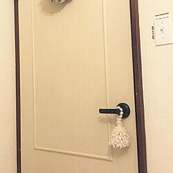玄関/入り口/セリア/築40年以上/6畳/タッセル自作のインテリア実例 - 2017-10-15 08:53:59