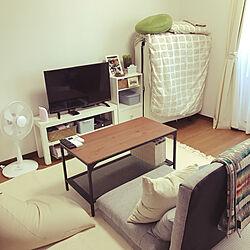 部屋全体/アイボリー/ベージュ/多肉植物/IKEA...などのインテリア実例 - 2018-07-22 22:56:00