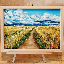 部屋全体/アートのある暮らし/絵画好き/アート/アートのある暮らし...などのインテリア実例 - 2021-07-27 10:21:53