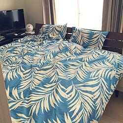ベッド周り/寝室/ベッド/ハワイアン/ベルメゾン...などのインテリア実例 - 2015-07-26 16:48:23