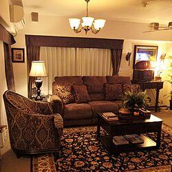 部屋全体/ミラー/ラグ/模様替え/アメリカ家具...などのインテリア実例 - 2015-10-05 01:50:40