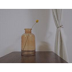 花瓶/クラスペディア/クラスペディアのドライフラワー/賃貸/賃貸インテリア...などのインテリア実例 - 2020-06-29 23:08:42