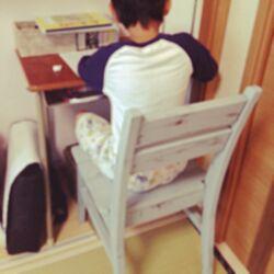 ベッド周り/学校の机/手作りキット/DIY/和室のインテリア実例 - 2014-05-21 15:54:17