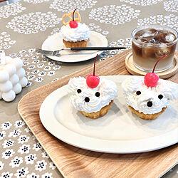 テーブルクロス/プケッティ/カップケーキ/cake /ケーキ...などのインテリア実例 - 2021-09-18 19:31:32