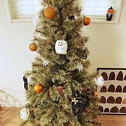 ダイソー/100均/北欧/クリスマスツリー/ハロウィンツリー...などのインテリア実例 - 2020-10-19 11:44:51
