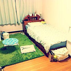部屋全体/掃除完了/ひと段落/床こんにちは。/すっきりのインテリア実例 - 2013-10-17 23:37:04