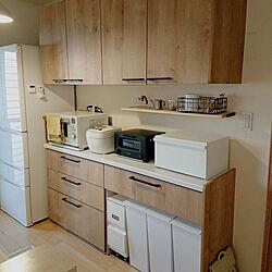 キッチン/キッチンのゴミ箱/北欧インテリア/シンプルな暮らし/リクシル...などのインテリア実例 - 2020-11-01 09:16:49