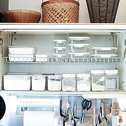 フレッシュロック/保存容器/キッチン収納/キッチンのインテリア実例 - 2021-05-23 08:25:27