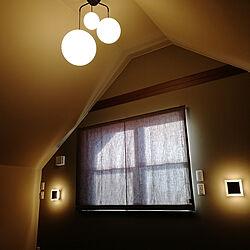 部屋全体/寝室/照明/カーテン/三井ホーム...などのインテリア実例 - 2020-01-01 08:00:02
