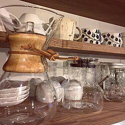 キッチン/食器棚/食器/KINTO/メイソンジャー...などのインテリア実例 - 2015-12-20 20:18:13