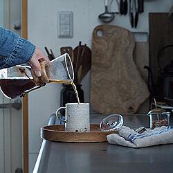 コーヒーのある暮らし/コーヒータイム/暮らしの道具/暮らしを楽しむ/珈琲時間...などのインテリア実例 - 2019-05-20 14:14:41