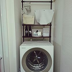 バス/トイレ/賃貸/洗濯機/洗濯機周り/Cuble...などのインテリア実例 - 2018-10-08 12:36:29
