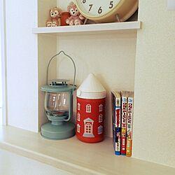 棚/漫画/IKEA ランタン/3COINS/つまようじのインテリア実例 - 2014-04-07 11:16:25