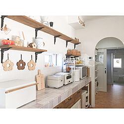 飾り棚/キッチン/カップボード/キッチンリセット/キッチン背面棚...などのインテリア実例 - 2020-09-30 13:26:39