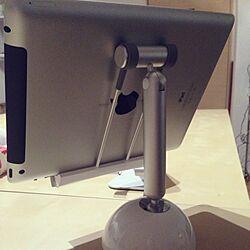 机/iPadスタンド/LEDデスクライトのインテリア実例 - 2013-03-10 01:17:59