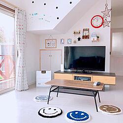 居間/テレビ台/テレビ/賑やかな家/テーブル...などのインテリア実例 - 2021-01-28 12:48:11