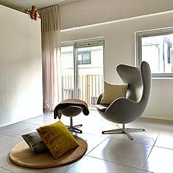 一人暮らし/Fritz Hansen/Egg chair /フリッツハンセン/部屋全体のインテリア実例 - 2021-04-07 22:26:08