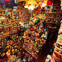 おもちゃ部屋/フィギュア/オモチャ棚/コレクション/DIY...などのインテリア実例 - 2019-10-02 08:32:34