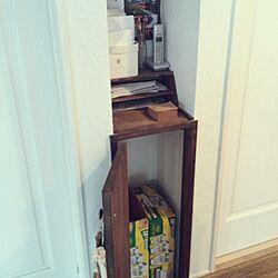 部屋全体/隙間収納/ビール♡/電話台/ホワイトボード...などのインテリア実例 - 2013-10-29 15:07:35