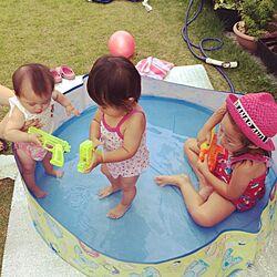 玄関/入り口/庭/植物/プール/子どもと一緒にのインテリア実例 - 2014-07-06 12:50:57