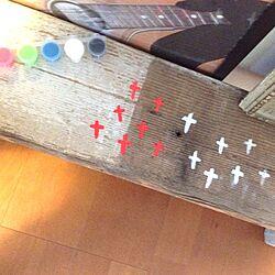 リビング/古材/ペイント/DIY/クロスのインテリア実例 - 2012-10-03 21:54:10